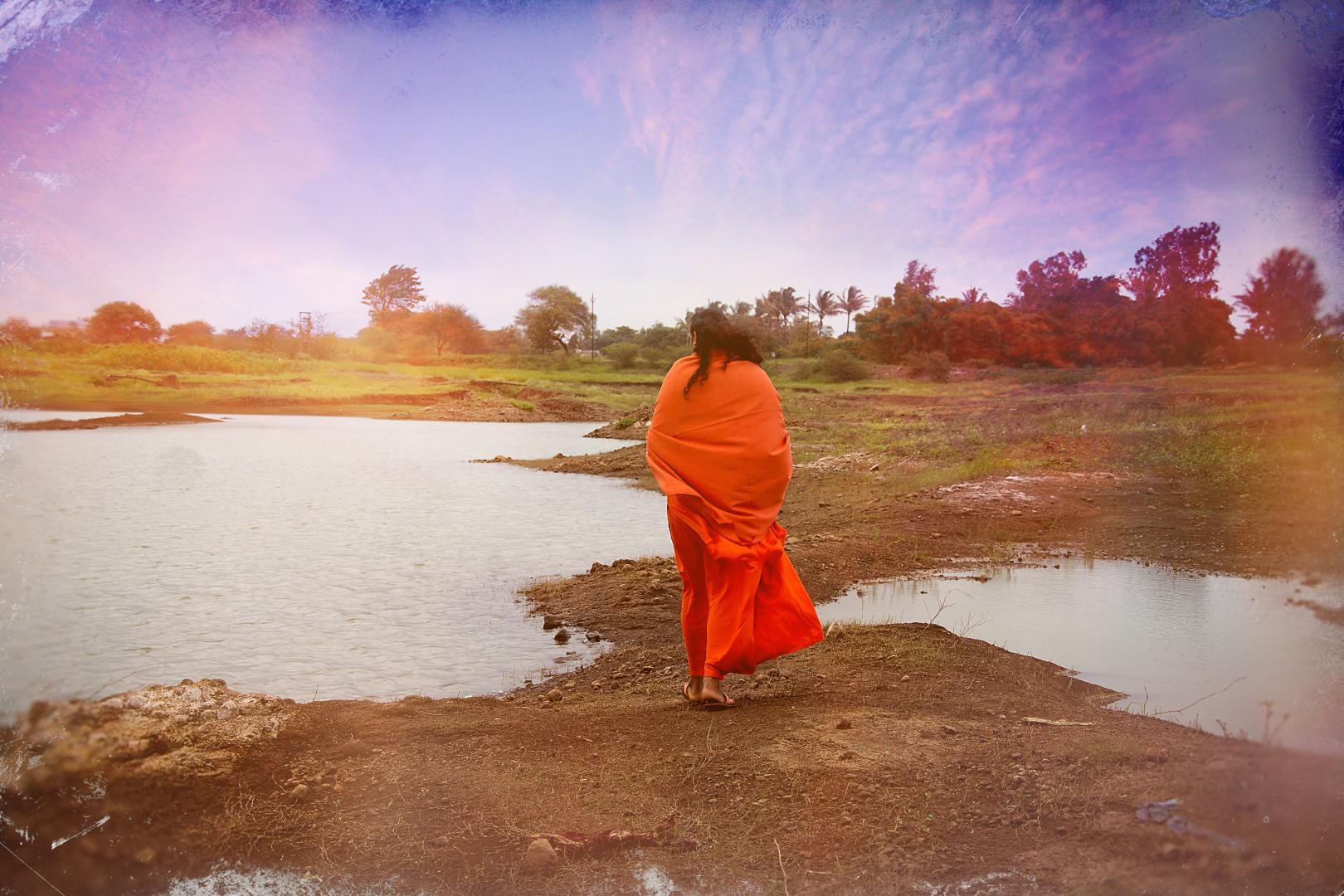 Swami Vishwananda w Nasik , indie